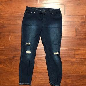 Hue xl stretch denim jeans